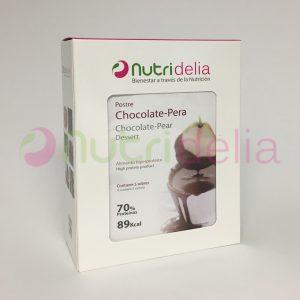 Hiperproteicos-postre-chocolate-pera-nutridelia